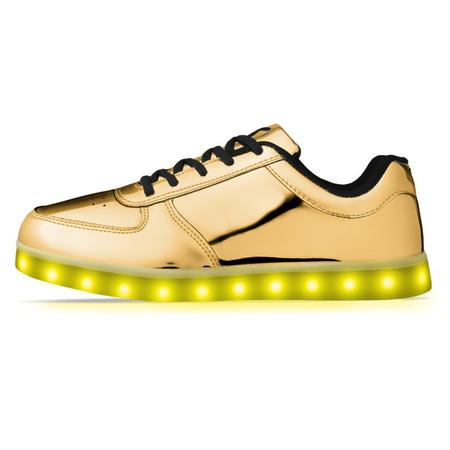 Led Sneakers GOLD LEDLOWGOLD